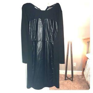 Eloquii size 20 Black Bodycon Dress